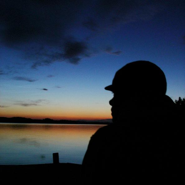 Middernacht in Zweden -