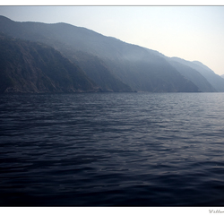 liguriaanse zeelandschap . . .