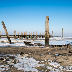 Haventje van Sil met ijsvorming