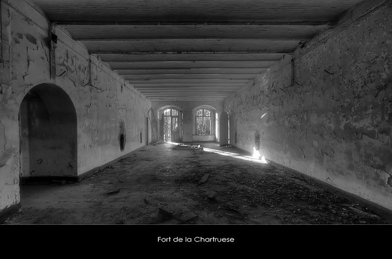 """LaChartreuse 4 - Welbekend verlaten Fort """"ergens"""" in Belgie,.."""