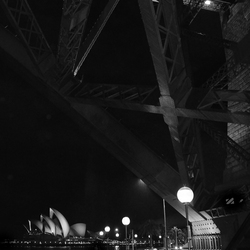 Sydney Opera House en de Harbour Bridge
