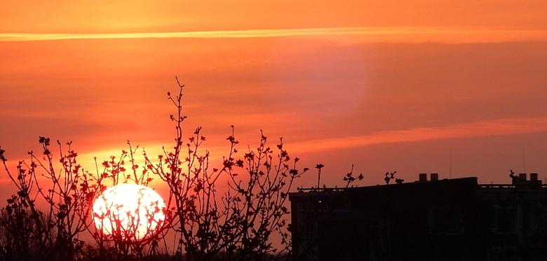 Zonsondergang...... - Elke avond weer prachtige zonsondergangen zoals deze,