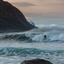De turqoise Noorse zee
