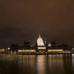 Parliament Budapest by night
