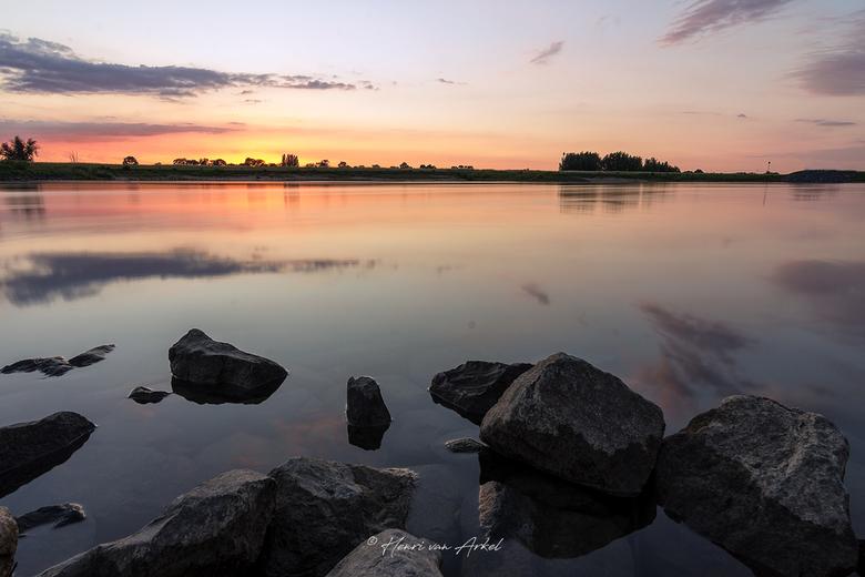 Langs de IJssel - Voor deze foto heb ik gebruik gemaakt van een 6 stops ND filter.