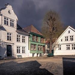 Schaduwen in Gamle Bergen