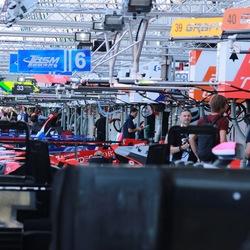 Le Mans 2018 pit walk