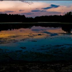 zonsopgang in zeeland