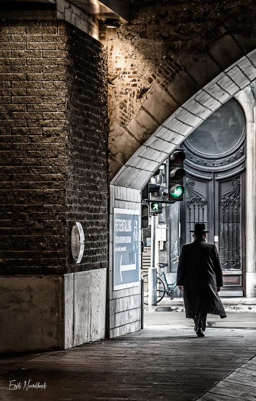 Joodse wijk, Antwerpen - Een dagje straatfotografie in Antwerpen.<br /> Genomen in de Joodse wijk in Antwerpen.