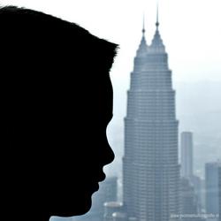 Zoon en Petrona Twin Towers (KL, Maleisië)