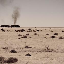 Trein in Namibië