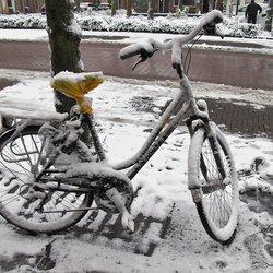 Onder gesneeuwd...