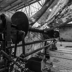 Textile factory B/W (II)