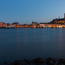 Dordrecht in the blue hour.