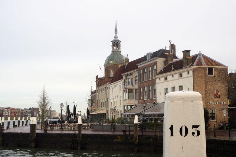 Dordrecht - Het Groothoofd in Dordrecht.