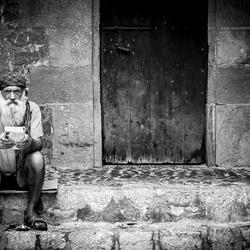 A man in Eivissa