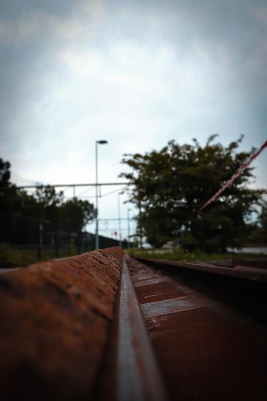 Oude Treinrails -