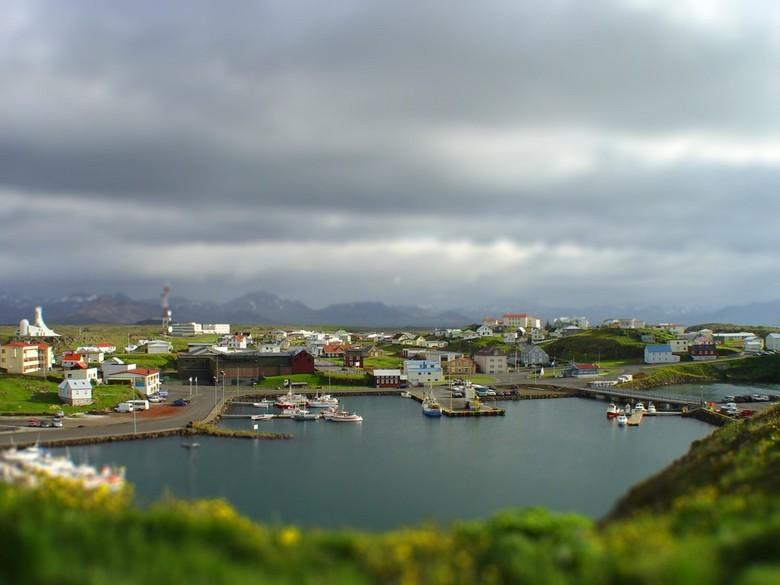 IJsland - beetje experimenteren met Tiltshift