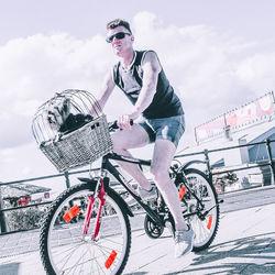 fietser scheveningen