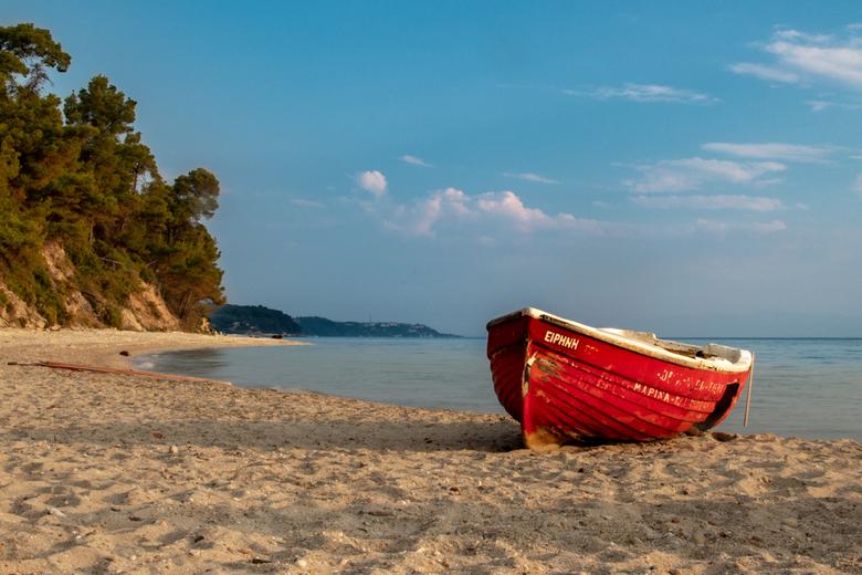 Strand Kryopigi Griekenland