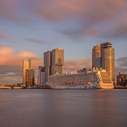 Rotterdam in the Golden Hour