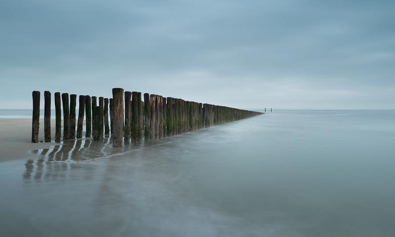 Breskens - Op het strand van Breskens