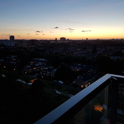 Zonsondergang Rijswijk