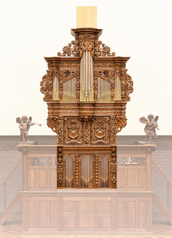 Bremser orgel - Opname gemaakt in opdracht voor uitgave van een boek ter gelegenheid van het inspelen van het gerestaureerde bremserorgel uit de 17de