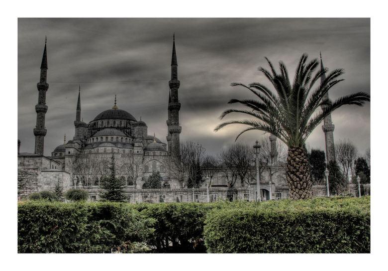 Sultan Ahmet Camii - Mijn eerste HDR in Istanbul gemaakt.