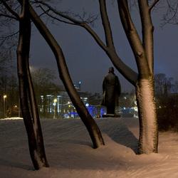 Avond in park