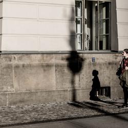 Schatten in Berlin