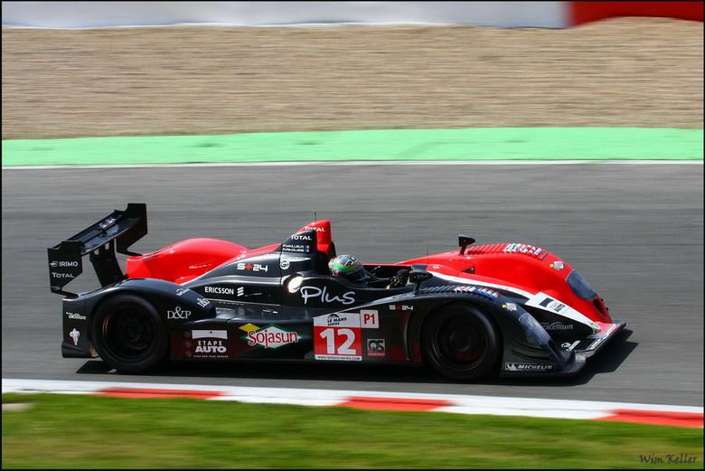 Courage-oreca lc70 Judd - Gezien bij de 1000km van Spa op het circuit van Francorchamps.