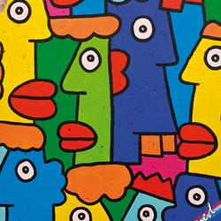 Muurschildering Berlijn