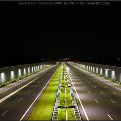 De afgesloten A4 Vlaardingen richting Den Haag