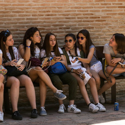 Spaanse scholieren