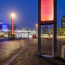 Leiden Central in the Morning