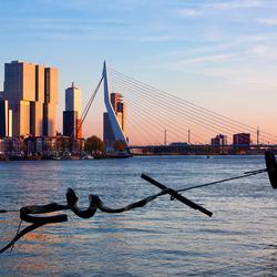 Rotterdam - Zonsondergang