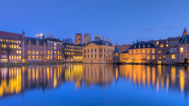 Binnenhof Blue Hour