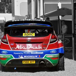 Ford Fiesta WRC @ ADAC Rally Deutschland