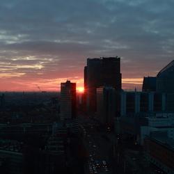 De stad wordt wakker