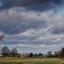 Panorama dreigende lucht