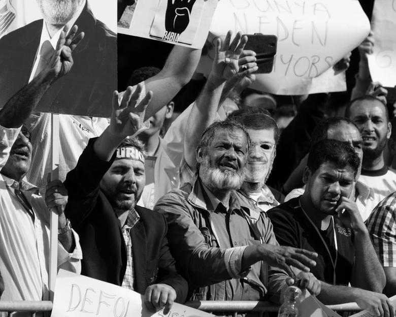 Protest SiSi - Protest tegen Sisi <br /> ICC Den Haag