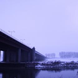 sneeuw en diepte
