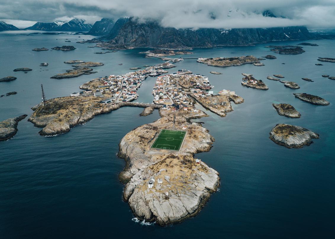 Soccer heaven.