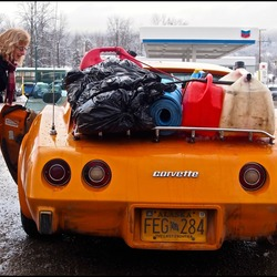 A Chevrolet Corvette.