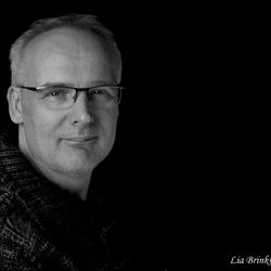 zwart/wit portret