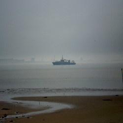 volledig de mist in...