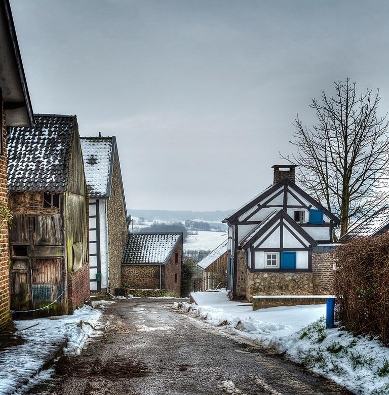 Limburgs winterlandschap -