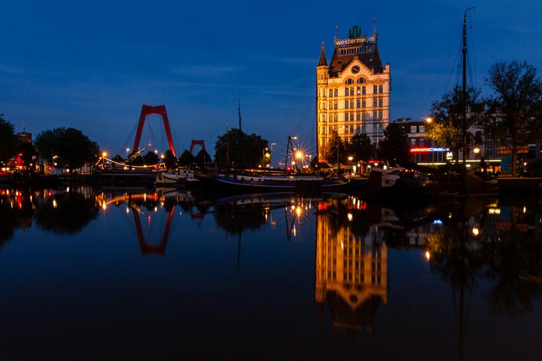 Oude Haven - Mooie zomeravond in de Oude Haven (Rotterdam)