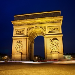 De Arc de Thriomphe, Parijs